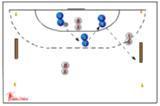 twin bench ball115 ballskill activitiesHandball Drills Coaching