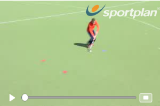 Changing direction with the ballVideo TechniquesHockey Drills Coaching