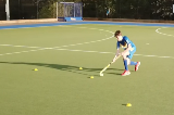 V-Drag & Roll StrongEliminating a PlayerHockey Drills Coaching