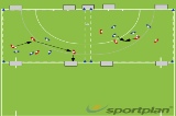 4 Goal Game | Conditioned Games