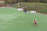 1v1 Elimination: Attacking the side of the DEliminating a PlayerHockey Drills Coaching