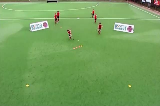 Disguised upright passingEliminating a PlayerHockey Drills Coaching
