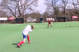 Aerial Pass 2: Over an OpponentPassing & ReceivingHockey Drills Coaching