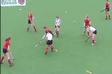 Close Circles: 5 vs 3 OverloadOverload situationsHockey Drills Coaching