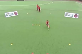 Elimination Skills: Unopposed V-drag (Right to Left) Drill Thumbnail