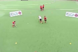 Elimination Skills: Wall Pass RightEliminating a PlayerHockey Drills Coaching