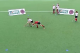 Elimination Skills: Semi Opposed V-drag (Left to Right)Eliminating a PlayerHockey Drills Coaching