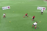Box Bandit: Fluid Small Unit PlayMovement off the ballHockey Drills Coaching
