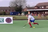 Hitting Drill off Right FootPassing & ReceivingHockey Drills Coaching