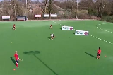 Player in the Middle: HittingPassing & ReceivingHockey Drills Coaching