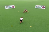 Push - Defend the GatePassing & ReceivingHockey Drills Coaching