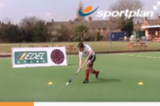 Reverse Stick Trap TechniquePassing & ReceivingHockey Drills Coaching