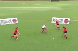 Stuck in the Box FluidPassing & ReceivingHockey Drills Coaching