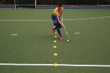 Dribbling - SlalomMoving with the ballHockey Drills Coaching