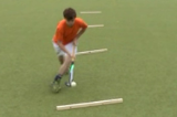 Forehand lift over stick3D skillsHockey Drills Coaching