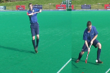 receiving high ball and attacking fastVideo TechniquesHockey Drills Coaching