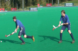 receiving high ball on the reverse side Drill Thumbnail