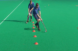 Dribble - lead and pull backVideo TechniquesHockey Drills Coaching