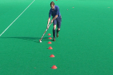 Dribble - forehand dragVideo TechniquesHockey Drills Coaching