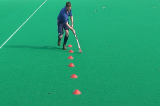 Dribble - reverse stick drag Drill Thumbnail