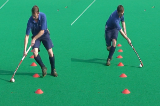 Dribble - body switchVideo TechniquesHockey Drills Coaching