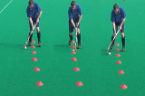 Dribble - tease the cone Drill Thumbnail