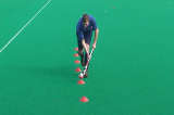 Dribble 3D  - Up Up Up3D skillsHockey Drills Coaching