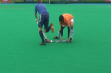 Block Tackle forehandVideo TechniquesHockey Drills Coaching