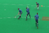 Back Foot ShotShooting & GoalscoringHockey Drills Coaching