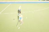 Continual receiving the ball from behindPassing & ReceivingHockey Drills Coaching