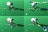 Stick stop Handle pushVideo TechniquesHockey Drills Coaching
