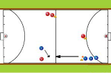 1 vs 1 Defence AIndoor HockeyHockey Drills Coaching