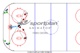 figure of 8 continues shooting drill | Samples