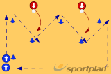 Intercept the High BallInterceptionNetball Drills Coaching