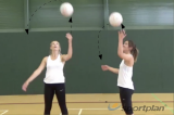 Overhead CatchWarm upsNetball Drills Coaching