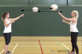 One handed passingGroup practicesNetball Drills Coaching