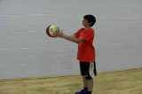 Fingertips control 1Ball skillsNetball Drills Coaching