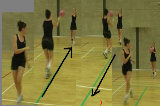 Chest pass on the move Drill Thumbnail