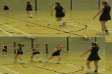 Pivot catch and passFootworkNetball Drills Coaching