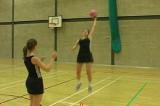 Receiving a heigh passInterceptionNetball Drills Coaching
