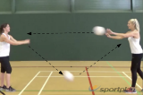 Over-Under PassingBall skillsNetball Drills Coaching