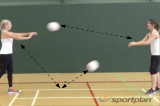 2 ball skill advancedBall skillsNetball Drills Coaching