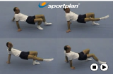 Linking three point balance and two point balances   Tummy Up Drill Thumbnail