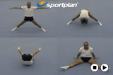 Straddle Forward Roll to Straddle SitKey 2 content Forward rollGymnastics Drills Coaching