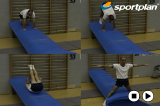 Forward Roll Straddle Progresion Drill Thumbnail