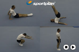 High Tuck Rock Backward Roll progression Drill Thumbnail