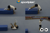 Forward Roll from PlatformKey 2 content Forward rollGymnastics Drills Coaching