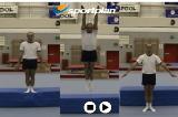 Jumping from a low platformKey 2 content Jump & TwistsGymnastics Drills Coaching