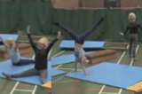 Linkage routine AKey 2 GC LinkageGymnastics Drills Coaching