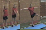 Calm down arm circles and single leg balance Drill Thumbnail